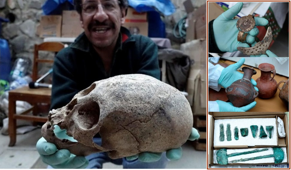Archaeologists discover 15th century indigenous tombs with Elongated Skulls in Bolivia 00_53_orig